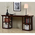 Walnut Cherry Ladder Console Table