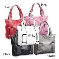 Synthetic Leather 16-inch Women's Fashion Tote Bag