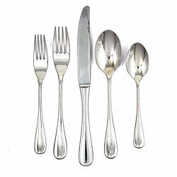 Ginkgo Firenze 18/10 Stainless 5-piece Place Setting