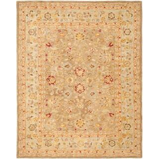 Safavieh Handmade Ancestry Tan/ Ivory Wool Rug (12' x 18')