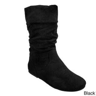 Glaze by Adi Women's Slouchy Microsuede Boots
