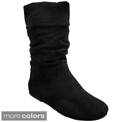 Glaze by Adi Women's Slouchy Microsuede Boots