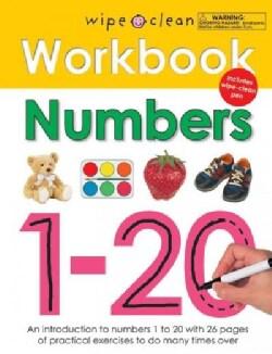 Wipe Clean Workbook Numbers 1-20 (Paperback)