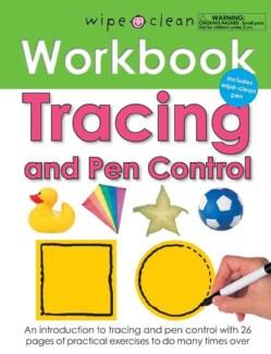 Wipe Clean Tracing and Pen Control Workbook (Paperback)