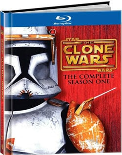Star Wars: The Clone Wars Season One DigiBook (Blu-ray Disc)