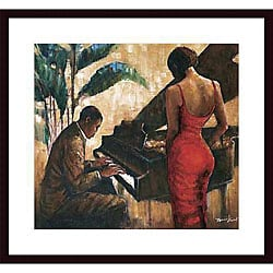 Monica Stewart 'Enchanting Keys' Wood Framed Art Print