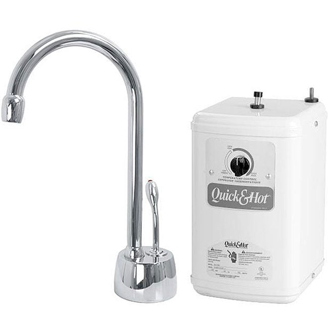 Simply Instant hot water dispenser words