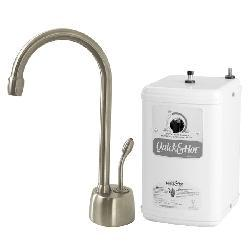 Satin Nickel Instant Hot Water Dispenser
