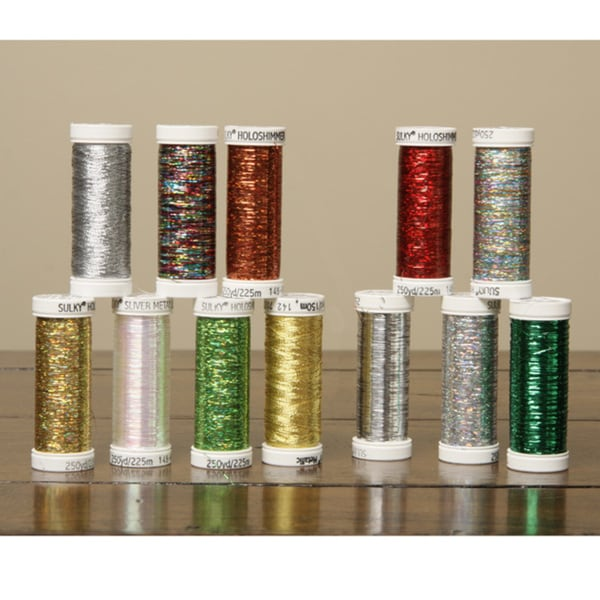 Sulky Brilliant Metallic Thread Colors (Set of 12) 5739643