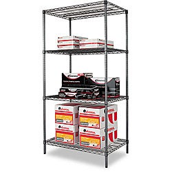 Alera Industrial Wire Shelving Starter Kit