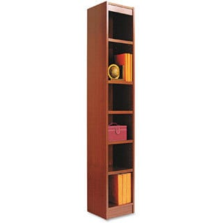 Alera Narrow Profile Bookcase With Finished Back