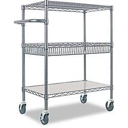 Alera 3-Tier Rolling Cart