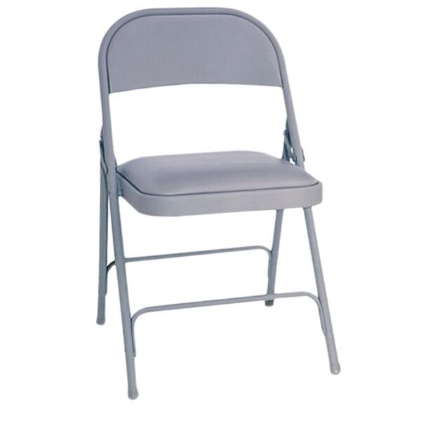 Alera Steel Folding Chair (Set of 4) 5739889