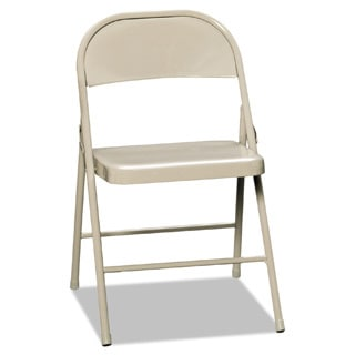 HON Steel Folding Chairs (Set of 4)