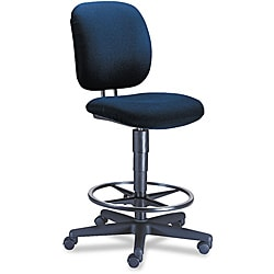 HON Comfortask Blue Task Swivel Stool