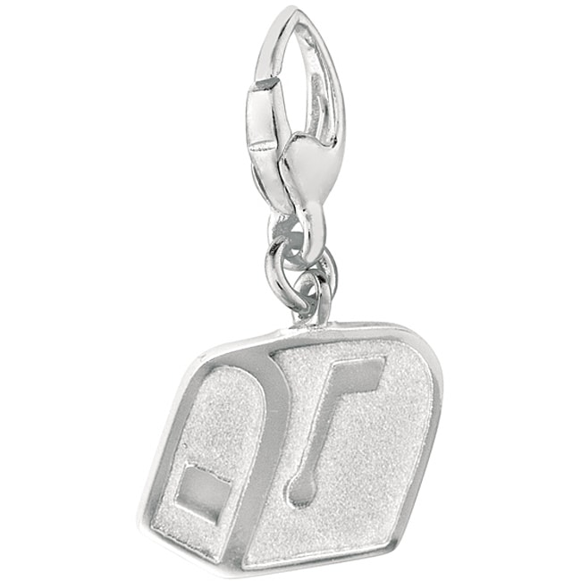 Sterling Silver Email Symbol Charm