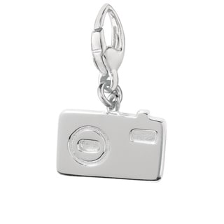 Sterling Silver 'Camera' Charm