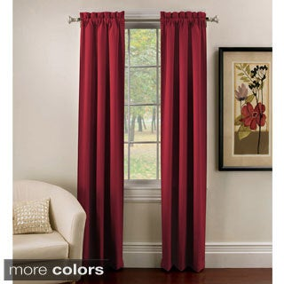 Ridgedale Thermal Backed Rod Pocket Curtain Panel Pair