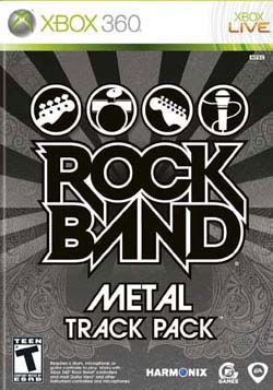 Xbox 360 - Rock Band Track Pack: Metal