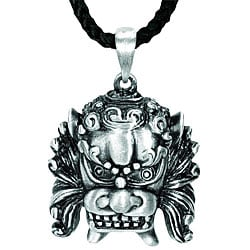 Pewter Foo Dog Necklace