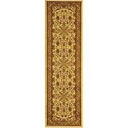 Safavieh Lyndhurst Collection Ohsak Ivory/ Tan Rug (2'3 x 16')