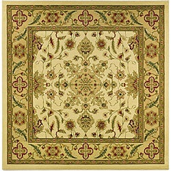 Safavieh Lyndhurst Collection Ohsak Ivory/ Tan Rug (6' Square)