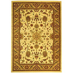 Safavieh Lyndhurst Collection Ohsak Ivory/ Tan Rug (6' x 9')