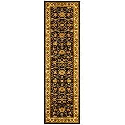 Safavieh Lyndhurst Collection Majestic Black/ Ivory Runner (2'3 x 16')