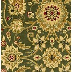 Lyndhurst Collection Majestic Sage/ Ivory Runner (2'3 x 12')