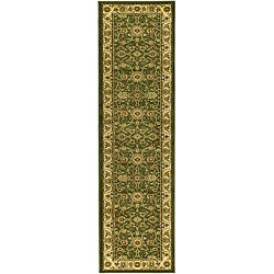 Lyndhurst Collection Majestic Sage/ Ivory Runner (2'3 x 12')