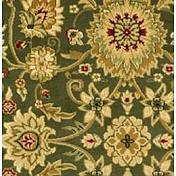 Lyndhurst Collection Majestic Sage/ Ivory Runner (2'3 x 14')