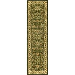 Safavieh Lyndhurst Collection Majestic Sage/ Ivory Runner (2'3 x 14')