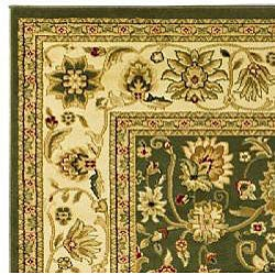 Lyndhurst Collection Majestic Sage/ Ivory Runner (2'3 x 8')
