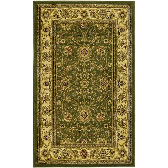 Safavieh Lyndhurst Collection Majestic Sage/ Ivory Rug (3'3 x 5'3)
