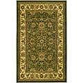 Lyndhurst Collection Majestic Sage/ Ivory Rug (3'3 x 5'3)