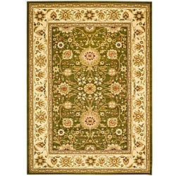 Safavieh Lyndhurst Collection Majestic Sage/Ivory Rug (8' x 11')
