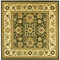 Safavieh Lyndhurst Collection Majestic Sage/ Ivory Rug (6' Square)