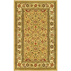 Lyndhurst Collection Majestic Beige/ Ivory Rug (5'3 x 7'6)