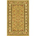 Safavieh Lyndhurst Collection Majestic Beige/ Ivory Rug (5'3 x 7'6)
