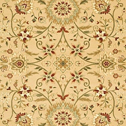 Safavieh Lyndhurst Collection Majestic Beige/ Ivory Rug (6' x 9')