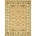 Lyndhurst Collection Majestic Beige/ Ivory Rug (6' x 9')