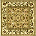 Lyndhurst Collection Majestic Beige/ Ivory Rug (6' Square)