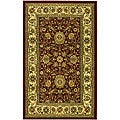 Lyndhurst Collection Majestic Red/ Ivory Rug (3'3 x 5'3)