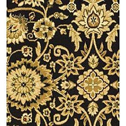 Lyndhurst Collection Majestic Black/ Red Runner (2'3 x 8')