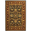 Safavieh Lyndhurst Collection Majestic Black/ Red Rug (3'3 x 5'3)