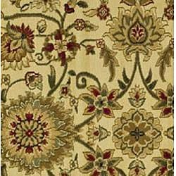 Safavieh Lyndhurst Collection Majestic Ivory/ Red Runner (2'3 x 12')
