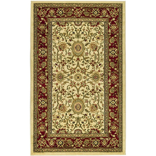 Safavieh Lyndhurst Collection Majestic Ivory/ Red Rug (3'3 x 5'3) at Sears.com