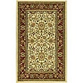Safavieh Lyndhurst Collection Majestic Ivory/ Red Rug (3'3 x 5'3)