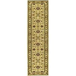 Safavieh Lyndhurst Collection Majestic Ivory/ Ivory Runner (2'3 x 14')