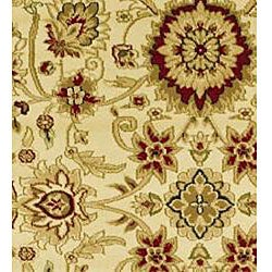 Lyndhurst Collection Majestic Ivory/ Ivory Runner (2'3 x 16')